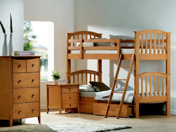 Joseph Maple Bunk Bed