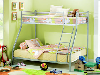 Joseph Metal Three 3 Sleeper Bunk Bed