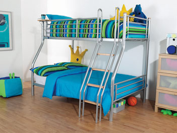 Hyder Galaxy Triple Bunk Bed - G2 Metal 3 Three Sleeper