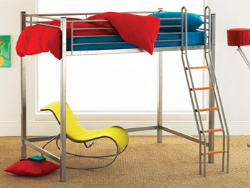 Hyder Loft Bed - High Double Bunk