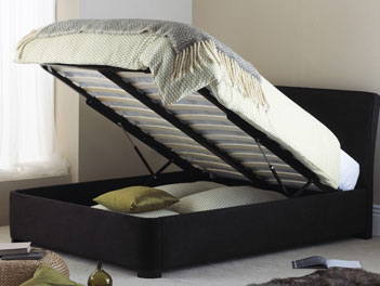 Hyder Paris Double Ottoman Bed