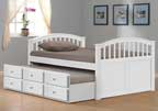 Joseph Polo Guest Bed - Guest Bed in White by Joseph